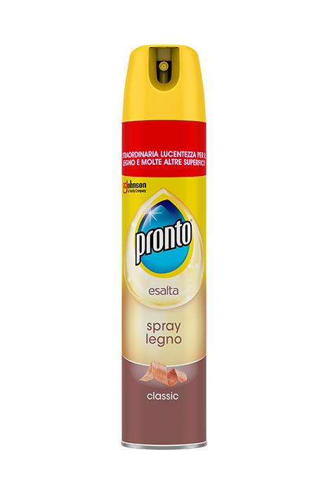 Come Spolverare I Mobili In Legno.Pronto Spray Legno Classic Pronto